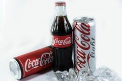 Coca - colaföretaget är den största läsken arkivfoto