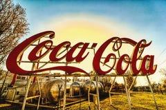 Coca - colaUngern royaltyfri foto