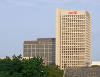 Coca- Colawelt-Headquarters Stockbild