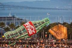 Coca- Colazeichen lizenzfreies stockfoto