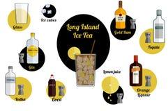 Coca de Long Island ilustração royalty free