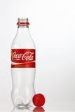 Cocacola bottle. Kuala Lumpur Malaysia,18th July 2016,empty cocacola plastic bottle on the white background Stock Photography
