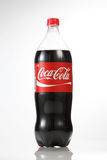 Cocacola. Kuala Lumpur Malaysia,18th July 2016,1.5 litre cocacola drinks on the white background Stock Photo