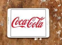 Cocacola logo Zdjęcie Stock