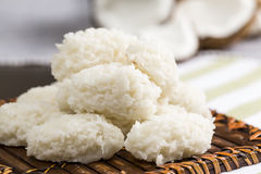 Cocada (coconut sweet) Royalty Free Stock Images