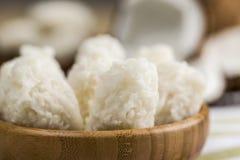 Cocada (coconut sweet) Stock Photo
