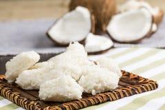 Cocada (dolce della noce di cocco) Fotografie Stock