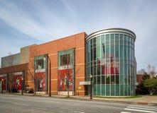 Cocaen - colafabrik i i stadens centrum Atlanta, Georgia Arkivfoton