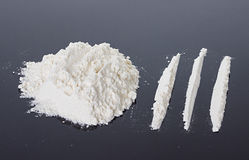 Cocaine Stock Photography