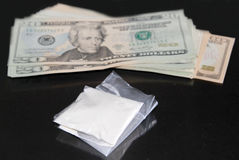 Cocaine deal Stock Photography