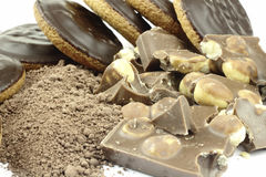 Cocao instant chocolate Stock Photography