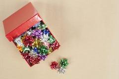 Coccarda di Natale in un Boxc Fotografia Stock