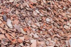 Cocci delle terraglie al sito storico in Turchia Fotografia Stock