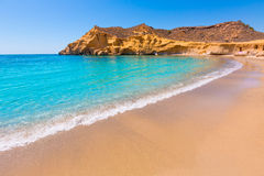 Cocedores beach in Murcia near Aguilas Spain Royalty Free Stock Image