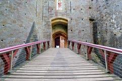 Coch di Castell Immagini Stock Libere da Diritti