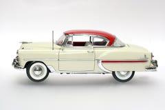 Coche 1953 del juguete de la escala del metal de Bel Air Imagenes de archivo