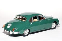 Coche 1959 del juguete de la escala del metal de la marca 2 del jaguar #2 Imágenes de archivo libres de regalías