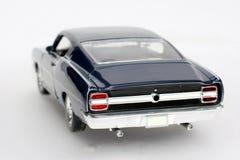 Coche 1969 del juguete de la escala del metal de Ford Torino Talladega #4 Fotografía de archivo libre de regalías