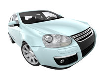 coche 3d libre illustration