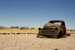 Coche abandonado Fotografía de archivo libre de regalías