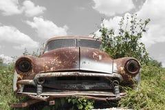 Coche abandonado Imagen de archivo libre de regalías
