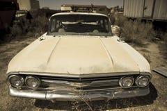 Coche abandonado del vintage en el estado de Utah Imagen de archivo
