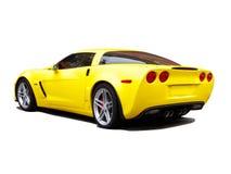 Coche amarillo foto de archivo libre de regalías