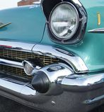 Coche americano clásico Chevrolet Fotos de archivo