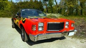 Coche americano del vintage, Ford Vehicles Foto de archivo libre de regalías