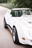 Coche americano interior del vehículo del coche del verde de Musculcar Imagenes de archivo