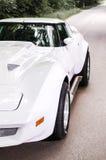 Coche americano interior del vehículo del coche del verde de Musculcar Foto de archivo