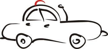 Coche auto stock de ilustración