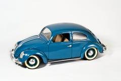 Coche azul Foto de archivo libre de regalías