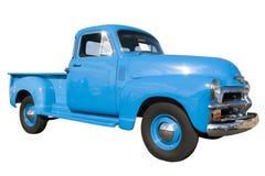 Coche azul de la vendimia en el Car Show Fotografía de archivo