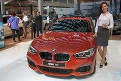 Coche BMW 1er Imágenes de archivo libres de regalías