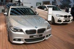 Coche BMW 5er Imágenes de archivo libres de regalías