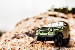 coche campo a través 4x4 Fotografía de archivo libre de regalías