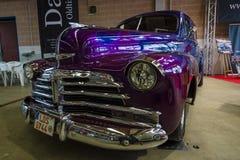 Coche Chevrolet Fleetmaster del vintage Imágenes de archivo libres de regalías
