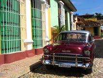 Coche clásico, Cuba Foto de archivo