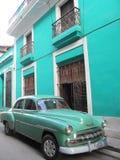 Coche clásico, Cuba Imagen de archivo libre de regalías