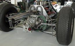 Coche clásico de los años 60 F1, obra clásica 2014 de Silverstone Foto de archivo libre de regalías