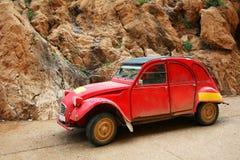 Coche clásico de Rallye fotografía de archivo libre de regalías