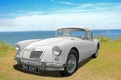 Coche clásico del automóvil descubierto del mga del vintage Imagenes de archivo