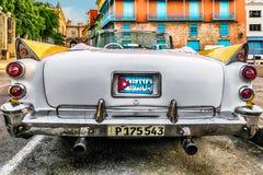Coche clásico en La Habana Fotos de archivo libres de regalías