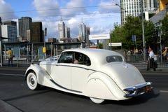 Coche clásico en Melbourne Imagen de archivo
