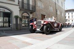 Coche clásico en Mille Miglia 2016 Fotos de archivo libres de regalías