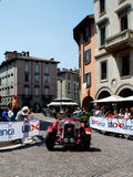 Coche clásico en Mille Miglia 2016 Imágenes de archivo libres de regalías