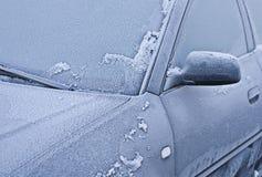 Coche congelado Imagenes de archivo