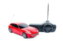 Coche controlado de radio del juguete Imagen de archivo libre de regalías