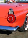 Coche convertible rojo de la vendimia Imagen de archivo libre de regalías